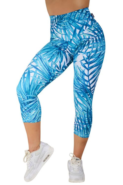 Body Contouring High Waisted Capri Leggings - Exotic Escape Made to measure Capris now available at www.exoticahtletica.com.au