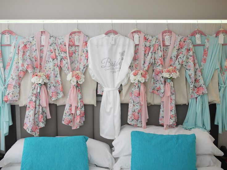 Breathtaking 48 Fabulous Bridesmaids Robes Wedding Ideas That You Need To See