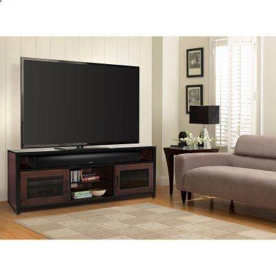 BellO Bedford Audio / Video Cabinet - Cocoa - BFA63-94541-MC1, TSI363