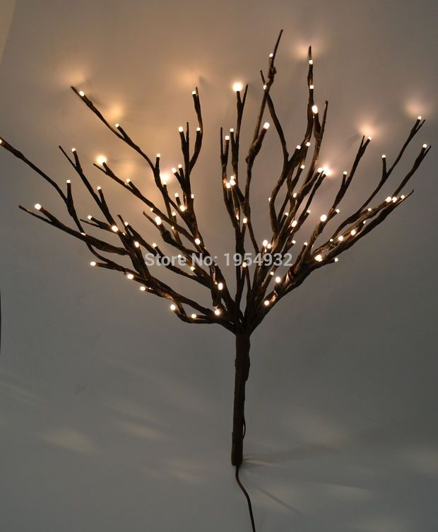 Battery Operated Led String Lights Hobby Lobby : 25+ Best Ideas about Twig Lights on Pinterest Natural crafts, No plates and Nature crafts