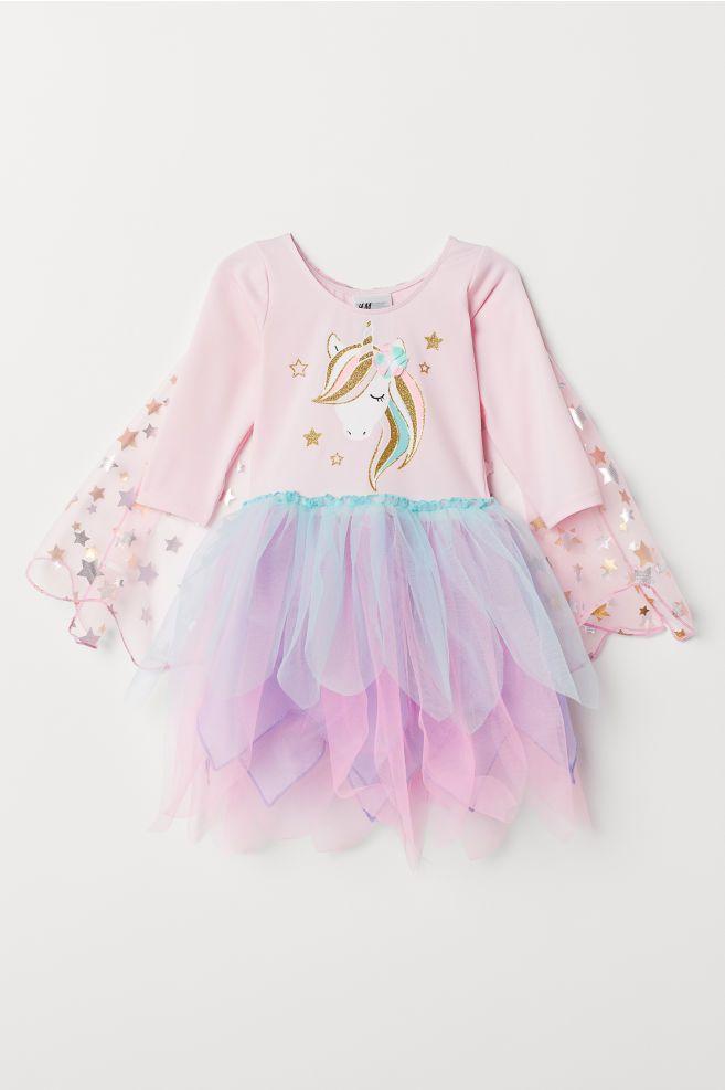 Ballettanzug mit Tüllrock - Rosa - Kids | H&M DE ...