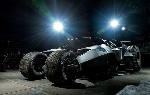 """Want...""""The Tumbler comes with a 400-horsepower, 6.2-liter V-8 fitting for its menacing stance (Credit: SWNS)"""""""