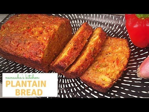 How To Make The Best Spiced Plantain Bread Ghanaian Brodo Ngo