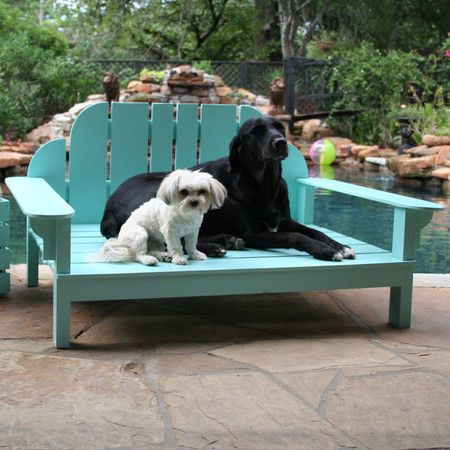 Newport Outdoor Pet Bed In Tiffany Blue I Love My