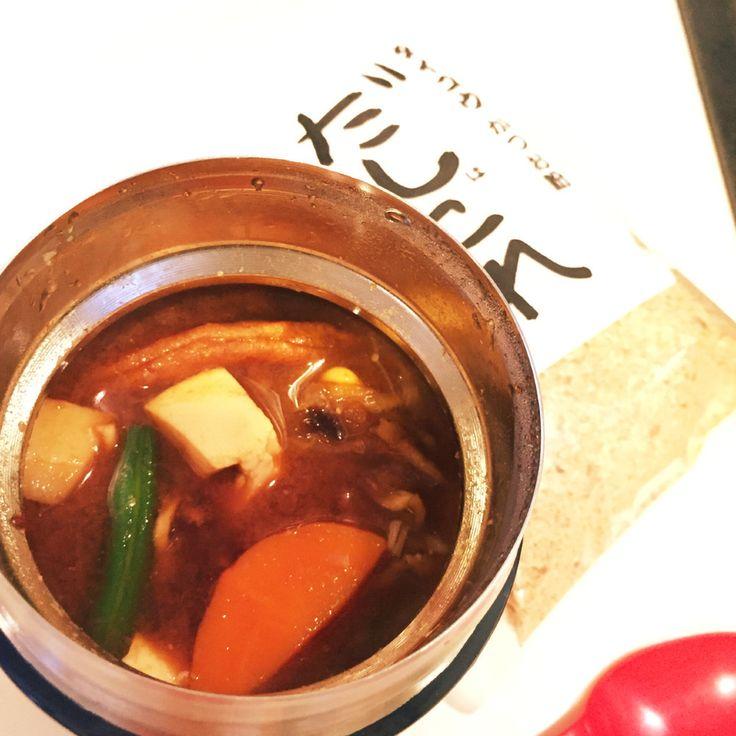 朝5分★スープジャー★パワー味噌汁    朝5分シリーズ。忙しい朝、鍋は使わない主義