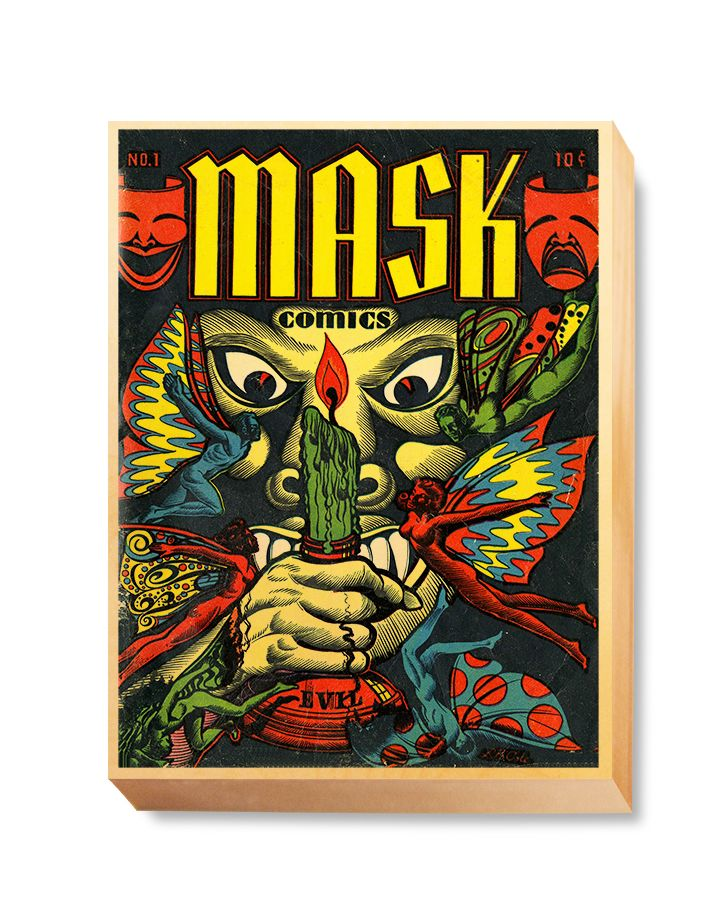 HOR 013 Horror Comic Cover - Mask Comics