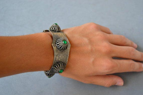 Spring Jewelry VENTA-pulsera antigua preciosa  Vintage por Limbhad