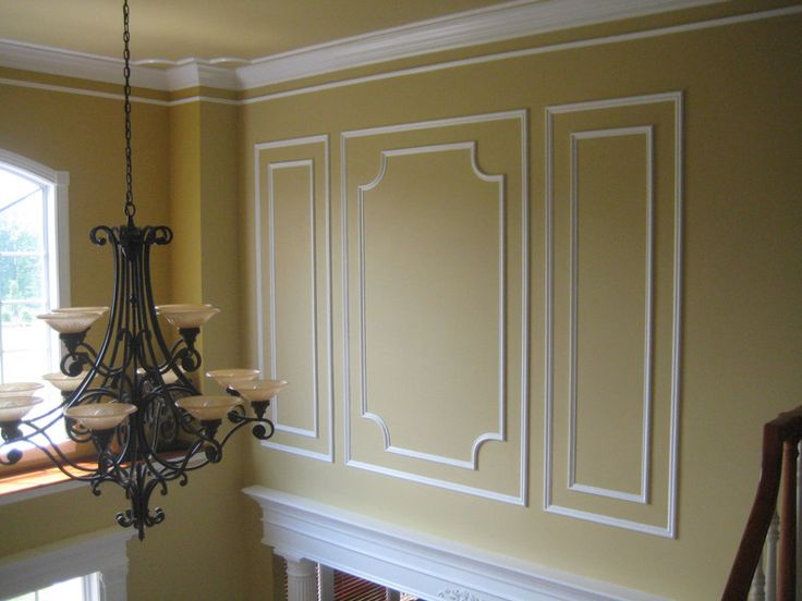Wall Moldings Foyer molding ideas Pinterest