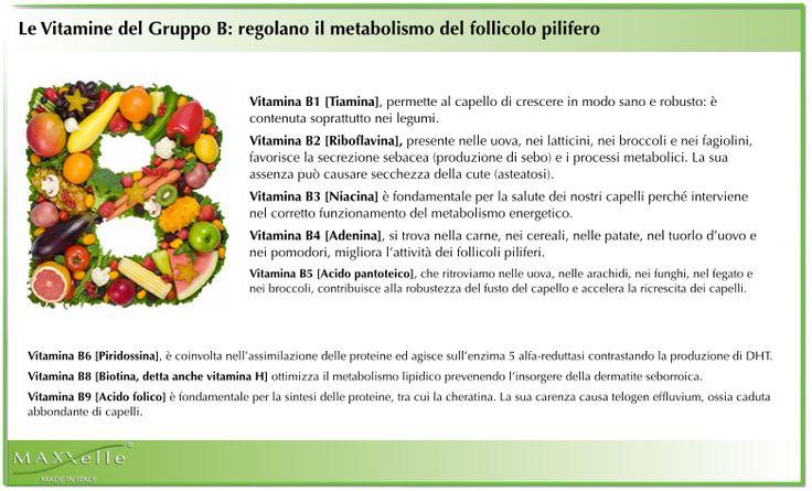 Alimenti e vitamine per la crescita dei capelli