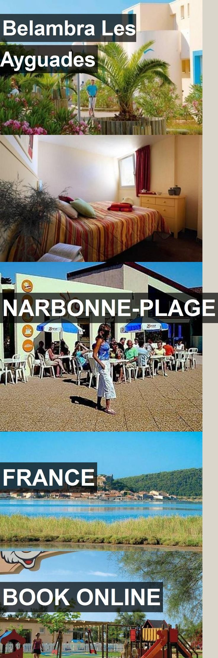 Hotel Belambra Les Ayguades in Narbonne-Plage, France. For more information, photos, reviews and best prices please follow the link. #France #Narbonne-Plage #travel #vacation #hotel