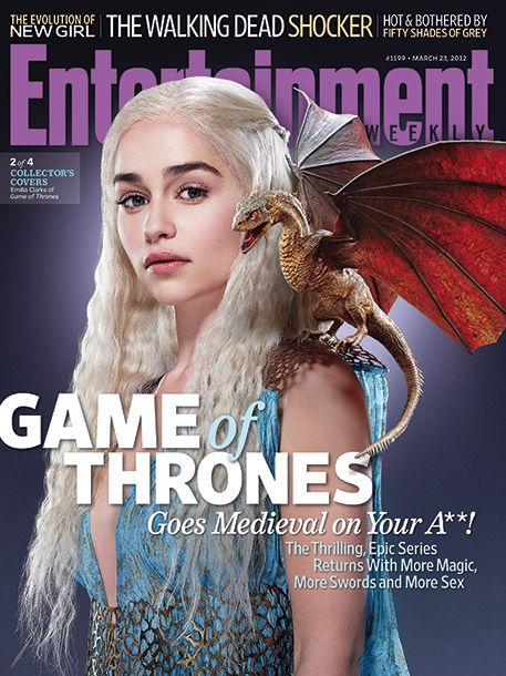 Games of Thrones! Daenerys is probably my favorite character - Dragon Queen!