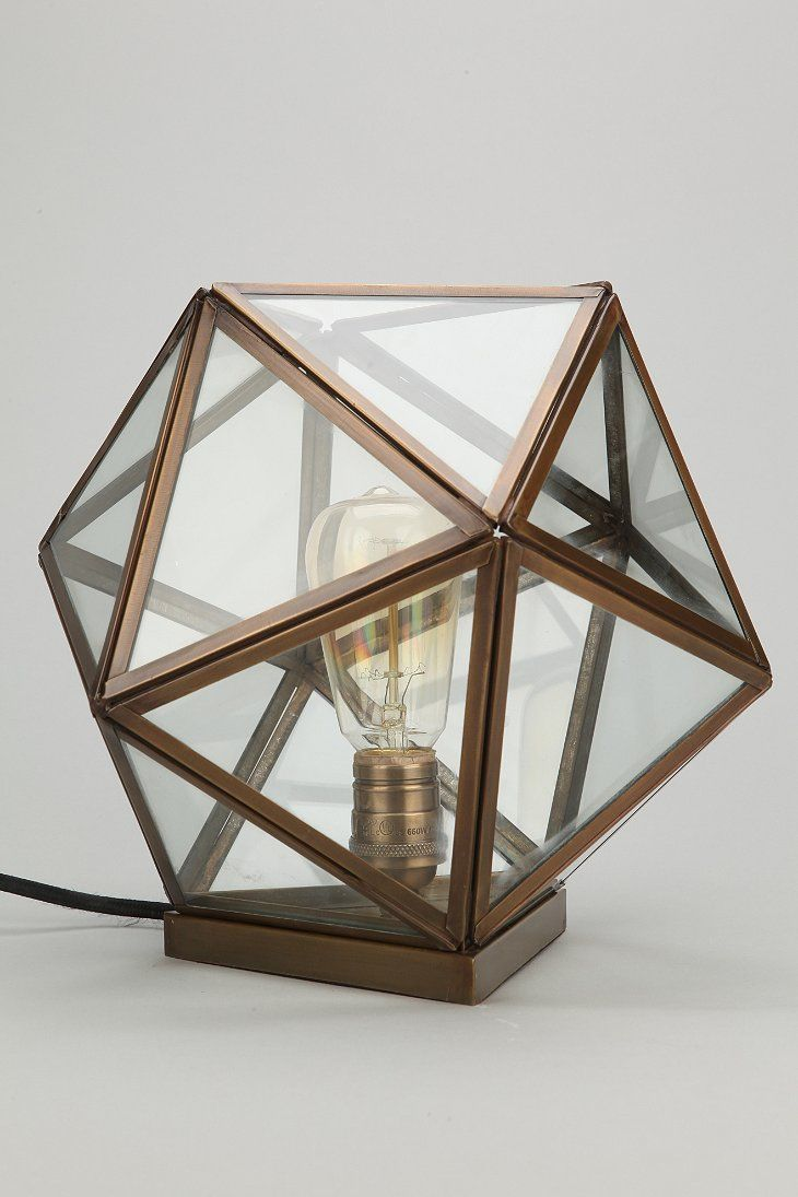Magical Thinking Geo Table Lamp: Urban Outfitters, Table Lamps, Interiors, Bedrooms, House, Pendants Lights, Tables Lamps, Geo Tables, Urbanoutfitt With