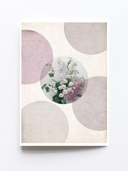 Greeting card by Sophie Klerk, 'flowers'