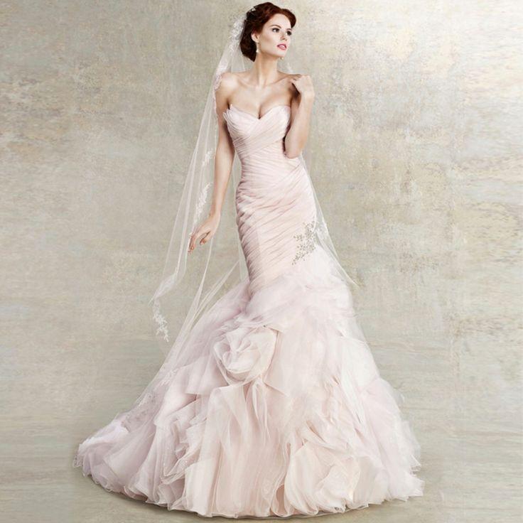 Slim fishtail wedding dress! http://www.alsotao.com/product/18393701074/taobao?sell=21