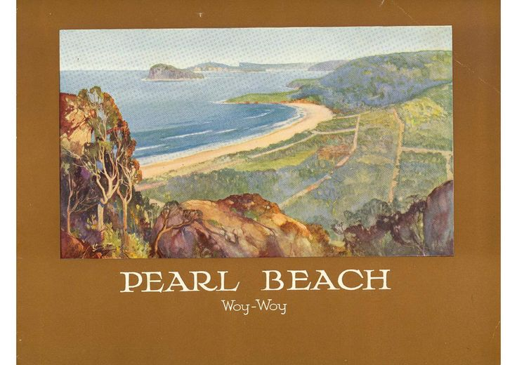 Pearl Beach Real Estate Prospectus (circa. 1926).