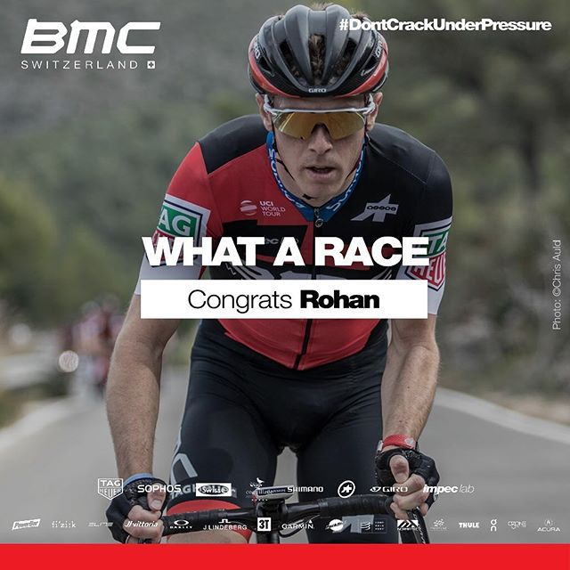 source instagram bmcproteam  It's a triple treat for @rohandennis! Rohan smashed the time trial to take the 🇦🇺 green and gold for the third year in a row! 👊🏼 @richie_porte backed it up with bronze and @miles_scotson behind in 4th. #Ride_BMC  bmcproteam  2018/01/05 13:41:52