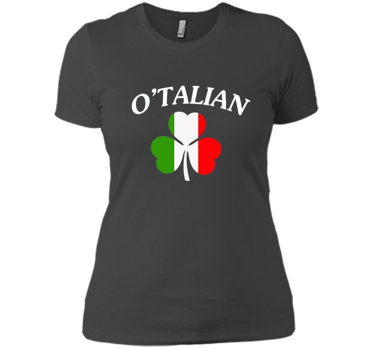 Italian Shirts - O'Talian Italy Flag Italia Funny T-Shirt
