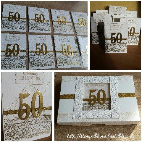 54 best meine auftragsarbeiten images on pinterest | cards, punch, Einladung