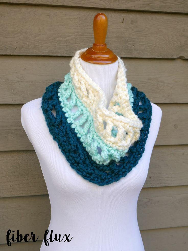 Las mejores Más de 50 imágenes de Cuellos crochet de Mª Cristina en ...
