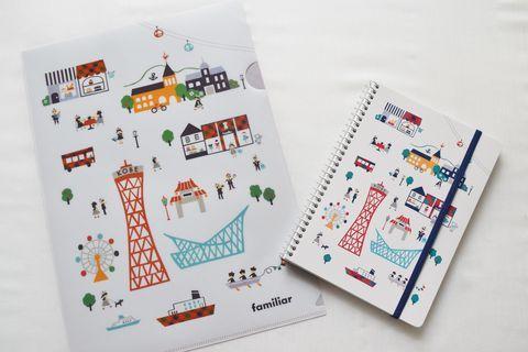 神戸で創業されたベビー・子供服メーカー「ファミリア」。上品なデザインと確かな品質は、世代を超えて長く愛されてきました。そんなファミリアに、神戸でしか買えない「限定雑貨」があることをご存じですか?ポートタワーや異人館など、神戸のランドマークがあしらわれたデザインに、ところどころに配されたファミリアチェック。神戸を訪れたら絶対に手に入れたい、そんなアイテムをご紹介します。お土産にもぴったりですよ!