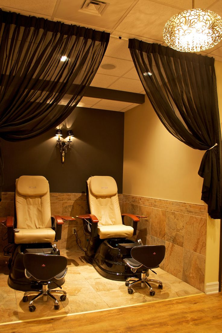156 best images about great salon furniture on pinterest best hair salon h - Decoration mural salon ...