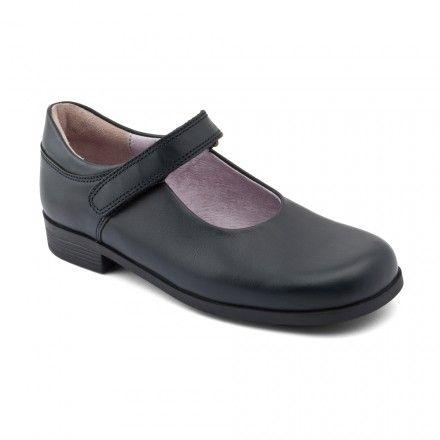 Samba, Navy Blue Leather Girls Riptape School Shoes - Girls School Shoes - Girls Shoes http://www.startriteshoes.com/girls-shoes/school-shoes/samba-navy-blue-girls-school-shoes