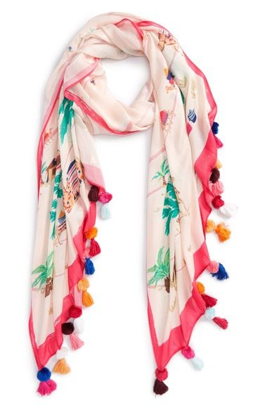 Silk Square Scarf - Seagull Freedom by VIDA VIDA