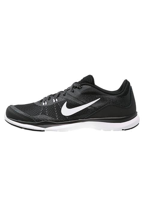 Chaussures de sport Nike Performance FLEX TRAINER 5 - Chaussures d'entraînement et de fitness - black/white/anthracite noir: 56,00 € chez Zalando (au 26/12/16). Livraison et retours gratuits et service client gratuit au 0800 915 207.