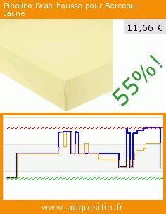 Pinolino Drap-housse pour Berceau - Jaune (Puériculture). Réduction de 55%! Prix actuel 11,66 €, l'ancien prix était de 26,20 €. https://www.adquisitio.fr/pinolino/540004-4-drap-housse