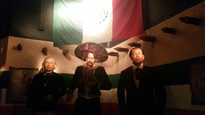 Benitez juarez, el cura Miguel hidalgo y Emiliano Zapata