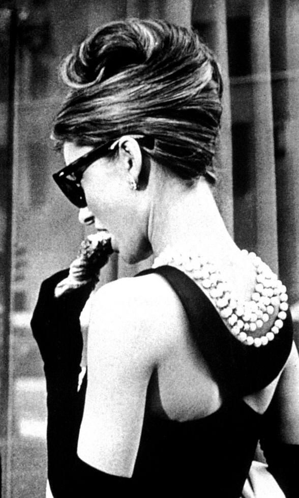 Audrey hepburn french twist hairstyle for that