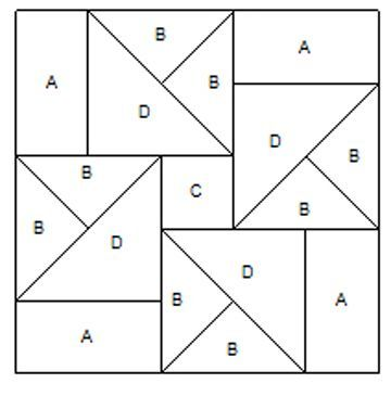 1942 best Paper Pieced Quilt Pattern images on Pinterest - pattern block template