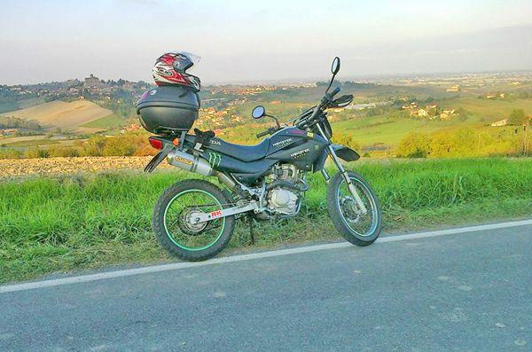 Quaranta chilometri con un litro!