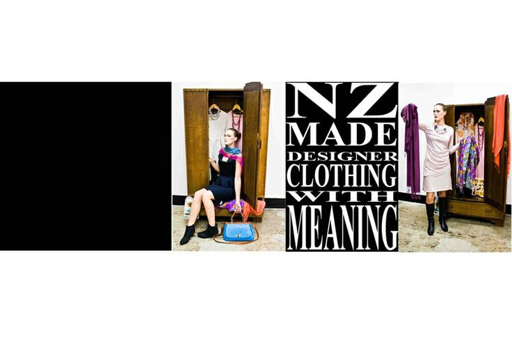 We love doing what we do...Designing NZ made clothing