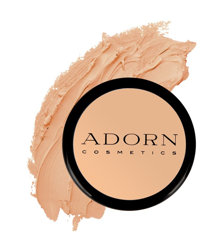 Adorn's concealers are formulated with both organic and mineral ingredients, are not cakey, non drying, highly pigmented and contain organic Jojoba Seed Oil, Shea Butter Fruit and Grapefruit Seed Extract. Conceals pigmentation, rosacea, tattoos, veins, scars, psoriasos, bruising and blemishes
