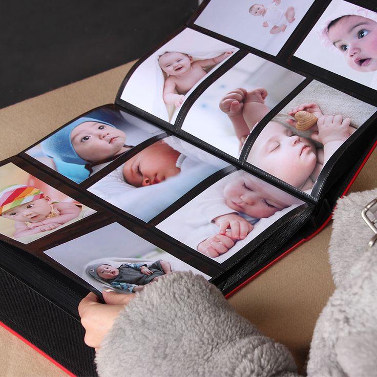 Tipo inserto 6 pollice 4r 600 pagine album di famiglia grande capacità bambino…