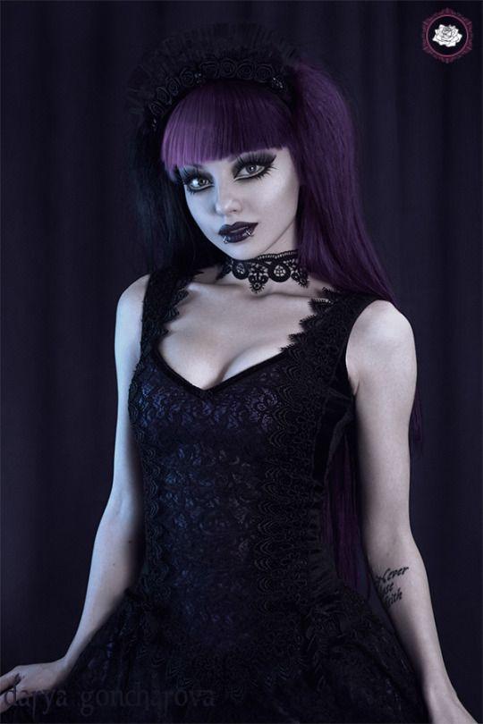 Model/MUA: Darya Goncharova   Clothes: Sinister / The Gothic Shop