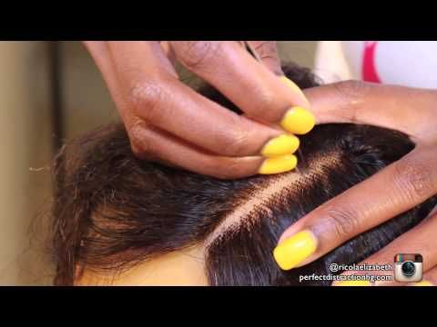 How To: Make Your Closure Look Natural |Perfect Distraction Hair Gallery| - YouTube