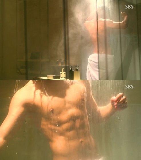 Kim Soo Hyun abs