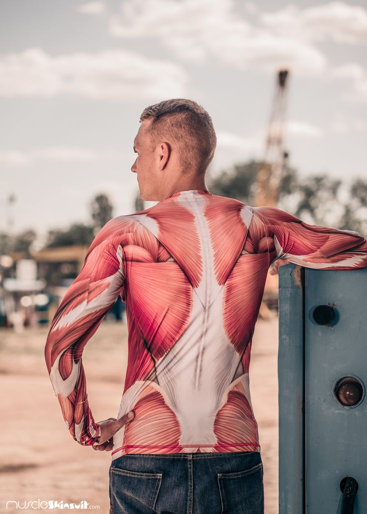 https://flic.kr/p/J3dEsu | rashie back | more info about rash guard: muscleskinsuit.com/Muscle/Muscle_Rashguard_long_sleeve