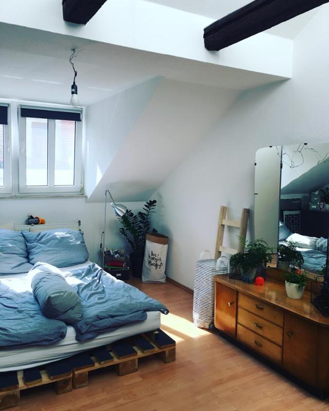 217 besten Schlafzimmer Bilder auf Pinterest Altbauten - schlafzimmer ideen mit schrgen