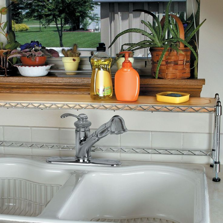 10 Amazing Ideas To Utilize The Space Under The Sink For Storage: Best 25+ Sink Shelf Ideas On Pinterest