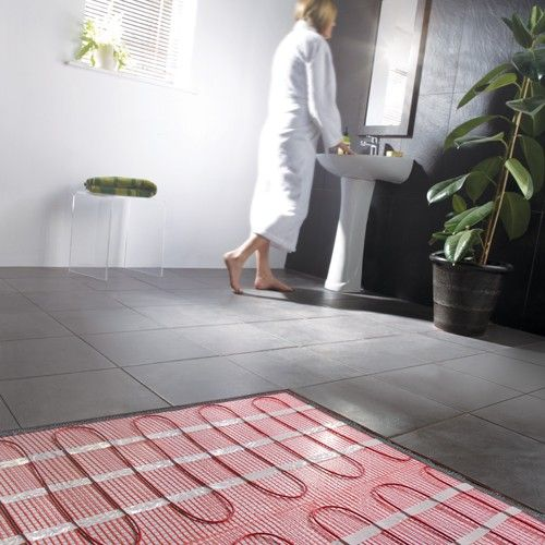 This 1 0 Sqm Electric Underfloor Heating Mat Is Effective Efficient And So Discreet