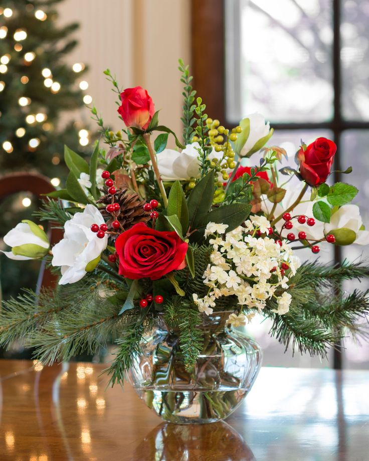 Christmas Wedding Flower Ideas: 93 Best Winter Wedding & Holiday Decor Images On Pinterest