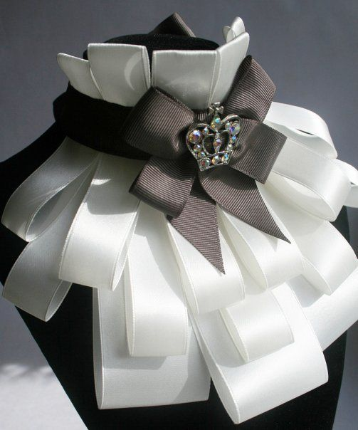 Interesting pattern frill of ribbons. Discussion on LiveInternet - Russian Service Online Diaries