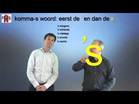Staal categorie 14: komma-s-woord - YouTube