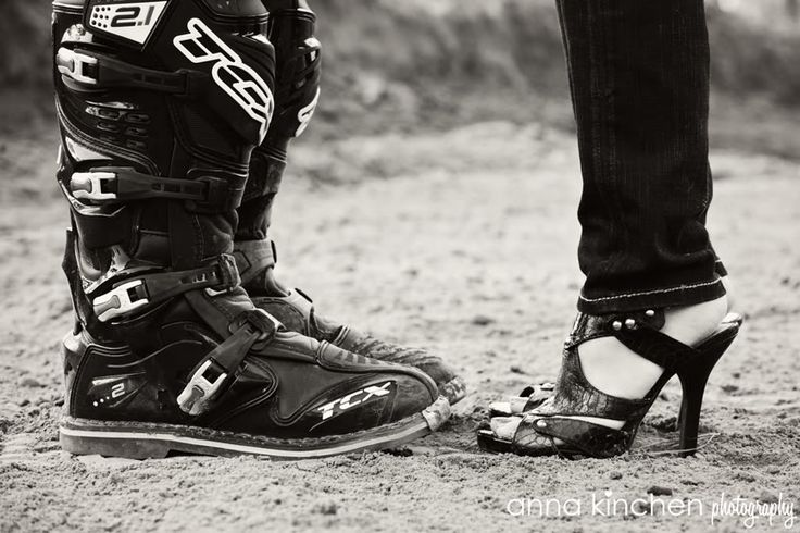 motocross engagement photo ideas @Beverly Kaine to Basics~ Hope for The Best Prepare for the Worst...lol...I noticed this picture and started to pin it when I saw it was you MD!! :) Thanks!