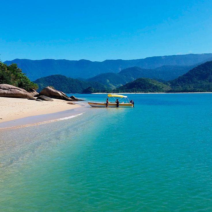 Praias de Paraty - Ilha do Pelado (Foto: Cortesia de Claudia Zamora)