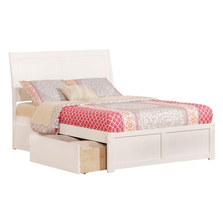Atlantic Portland Panel Full-size Storage Bed