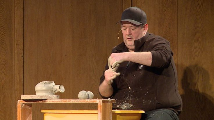 Johnny Vegas 60 second teapot challenge